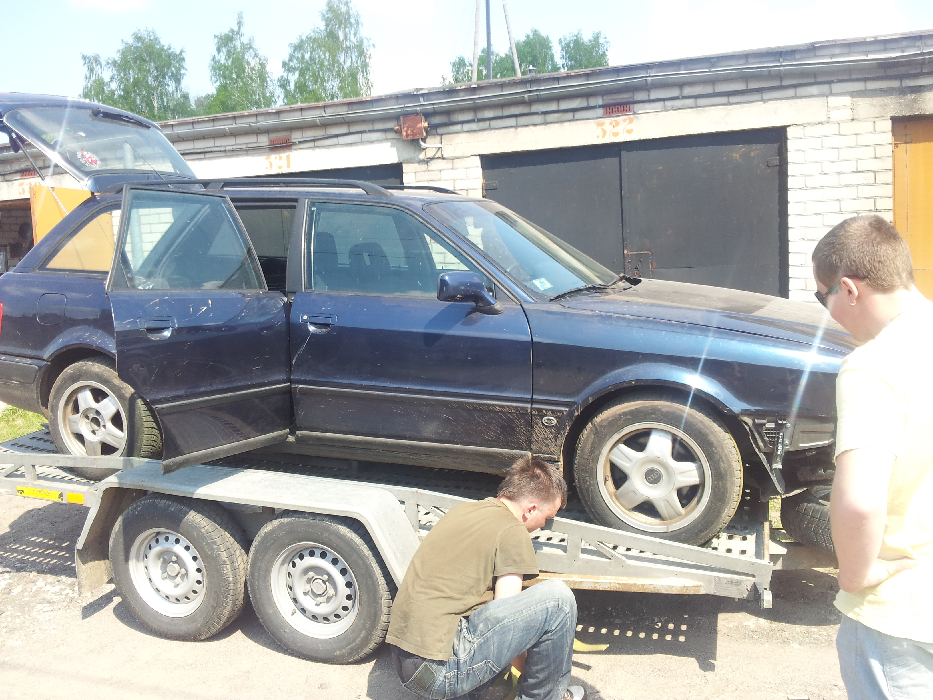 Audi 80 Avant Quattro 19 Tdi Project S2forum The Audi S2 Community